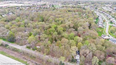Rochester, Rochester Hills Residential Lots & Land For Sale: 435 E Nawakwa Road