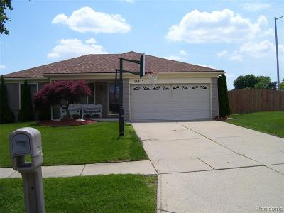 Sterling Heights Single Family Home For Sale: 13812 Carlisle Drive