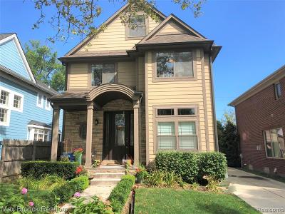 Birmingham Single Family Home For Sale: 1023 Bennaville Avenue