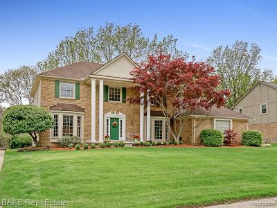 Northville Single Family Home For Sale: 46065 Greenridge Drive