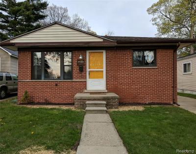 Madison Heights Single Family Home For Sale: 27856 Lenox Avenue