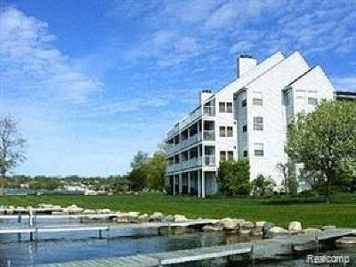 Waterford Twp Condo/Townhouse For Sale: 3565 Port Cove Drive #73