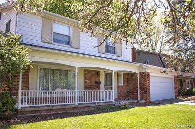 Ann Arbor Single Family Home Contingent - Continue To Show: 1326 King George Boulevard