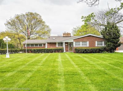 Grosse Ile, Gross Ile, Grosse Ile Twp Single Family Home For Sale: 21515 Thorofare Road