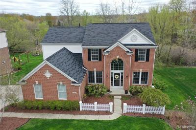 Orion Twp MI Single Family Home Pending: $424,900