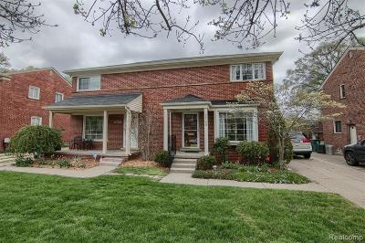Royal Oak Single Family Home For Sale: 2720 Glenview Avenue