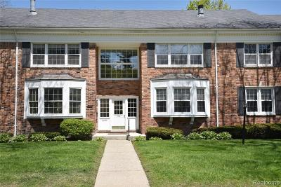 Bloomfield Twp Condo/Townhouse For Sale: 550 Billingsgate Court #C