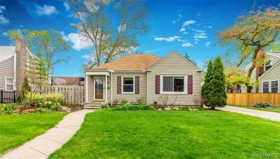 Berkley Single Family Home For Sale: 2856 Thomas Avenue