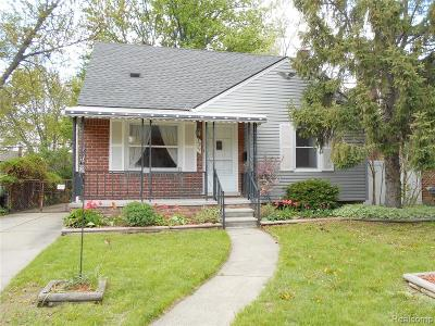 Royal Oak Single Family Home For Sale: 3219 N Vermont Avenue