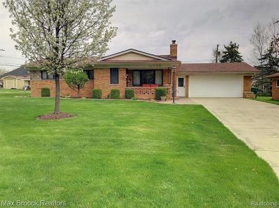 Washington Twp Single Family Home For Sale: 11739 Barbara Ann Drive