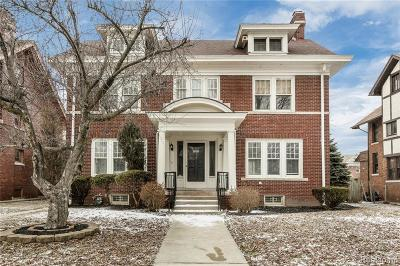 Detroit Single Family Home For Sale: 888 Chicago Boulevard