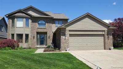St Clair Shores, Roseville, Harrison Twp, Fraser Single Family Home For Sale: 15531 White Oak