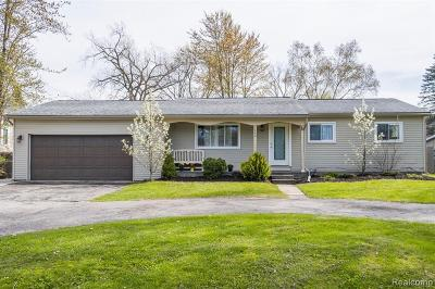 Troy Single Family Home For Sale: 1340 Cadmus Drive