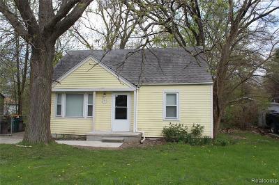 Romulus Single Family Home For Sale: 7355 Taft Street