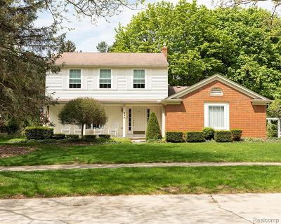 Northville Single Family Home For Sale: 534 Morgan Circle
