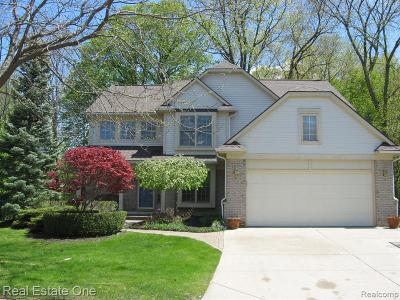 Novi Single Family Home For Sale: 42756 Brookstone Drive