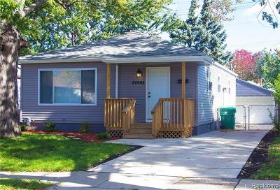 Eastpointe Single Family Home For Sale: 24692 Lambrecht Avenue