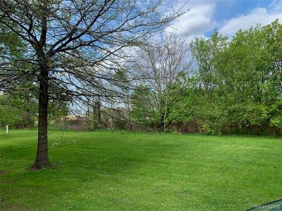 Sterling Heights Residential Lots & Land For Sale: 5576 Northlawn Drive