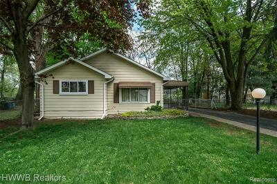 Troy Single Family Home For Sale: 1788 Westwood Drive
