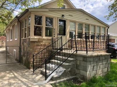 Dearborn Heights Single Family Home For Sale: 8644 Nightingale Street
