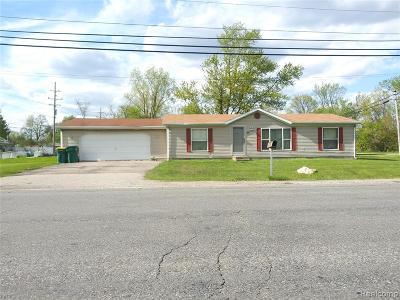 Romulus Single Family Home For Sale: 35420 Grant Street