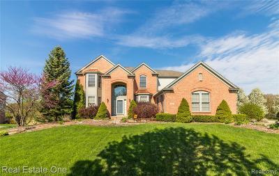 Lake Orion, Orion Twp, Orion Single Family Home For Sale: 1502 Covington Woods Lane