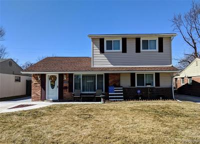 Riverview Single Family Home Contingent - Continue To Show: 18540 Valade Street