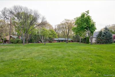 Bloomfield Twp Residential Lots & Land For Sale: 3761 Shallow Brook Drive