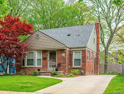 Birmingham Single Family Home For Sale: 1977 Washington Boulevard