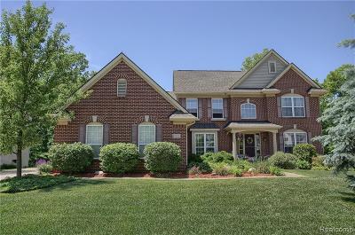 White Lake, White Lake Twp Single Family Home For Sale: 122 Wildrose Drive