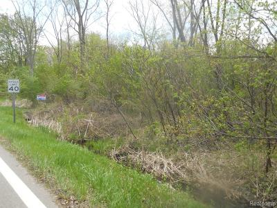 West Bloomfield Twp Residential Lots & Land For Sale: Walnut Lake Road
