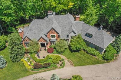 Oakland County Single Family Home For Sale: 7868 Holcomb Road