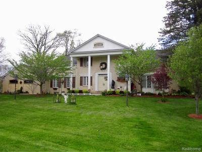 Bruce Twp Single Family Home For Sale: 4801 32 Mile Road