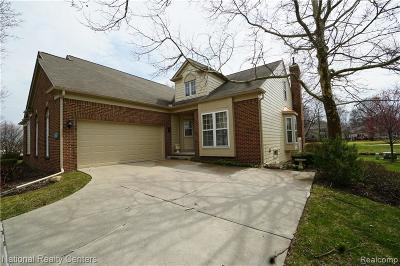 Northville Condo/Townhouse For Sale: 39623 Muirfield Lane