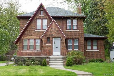 Detroit Single Family Home For Sale: 14550 Warwick Street