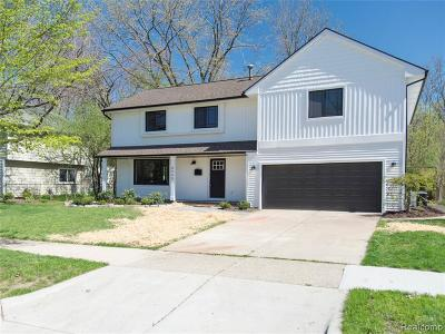 Ann Arbor Single Family Home For Sale: 2885 Ticknor Court