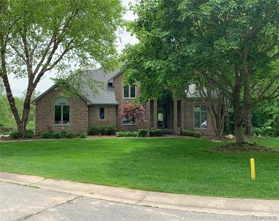 Commerce Twp MI Single Family Home For Sale: $649,000