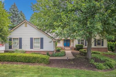 Plymouth Single Family Home For Sale: 13442 Portsmouth Crossing