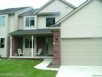 Milford Twp Condo/Townhouse For Sale: 3479 Silver Stone Drive