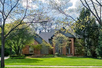 Novi Single Family Home For Sale: 24395 Nantucket Drive