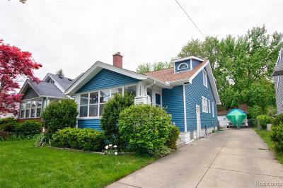 Berkley Single Family Home For Sale: 1428 West Boulevard