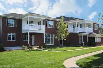 Washington Twp Condo/Townhouse For Sale: 6729 Boulder Pointe Drive