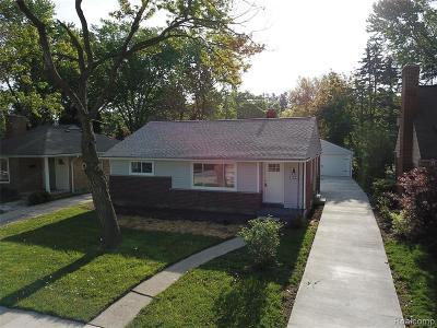 Royal Oak Single Family Home For Sale: 2606 Woodland Avenue
