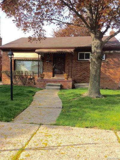 Allen Park Single Family Home For Sale: 16128 Belmont Avenue