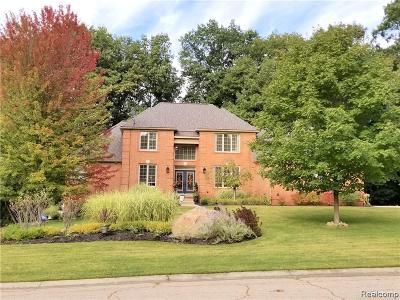 Single Family Home For Sale: 9051 Hunters Creek Drive