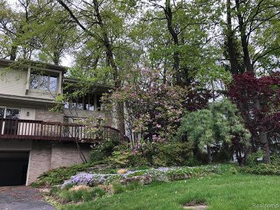 Bloomfield, Bloomfield Hills, Bloomfield Twp, West Bloomfield, West Bloomfield Twp Single Family Home For Sale: 3118 Bloomfield Park Drive