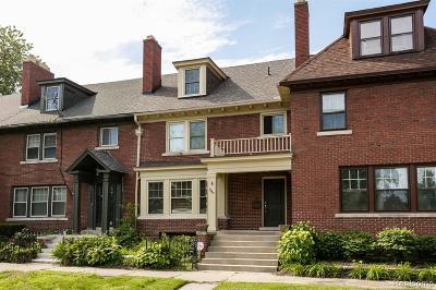 Detroit Single Family Home For Sale: 7963 Saint Paul Street