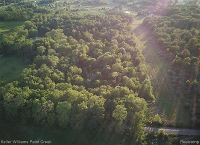 Addison Twp Residential Lots & Land For Sale: 001 Curtis Rd Road