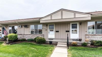 South Lyon Condo/Townhouse For Sale: 25313 Franklin Terrace #7