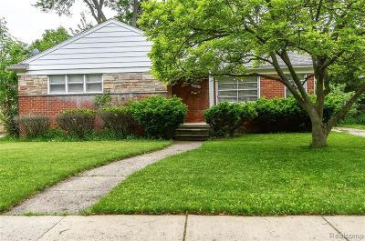 Oak Park Single Family Home For Sale: 24311 Cloverlawn Street